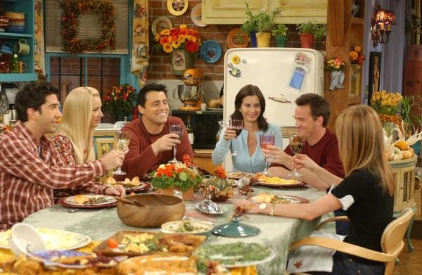 Todos los episodios de Acción de Gracias de 'Friends'