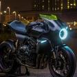Gevaarlijk futuristische Honda CB4 Interceptor wekt zelf energie op