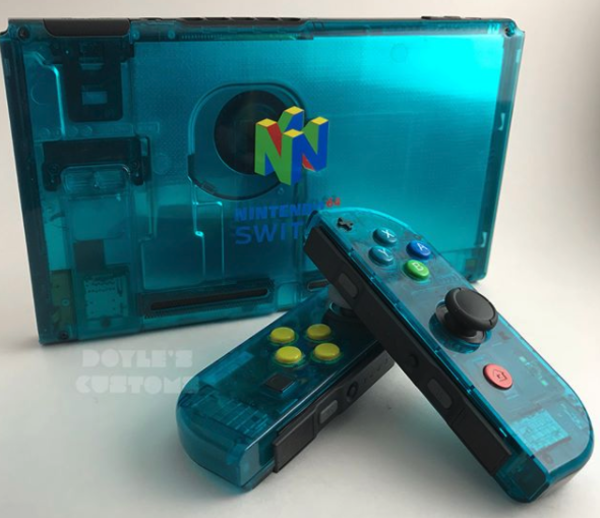 Nintendo 64 mod van de Nintendo Switch (klik afbeelding voor artikel)