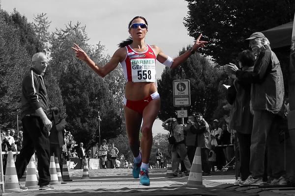 Sabrina Mockenhaupt — eine Sportlerin