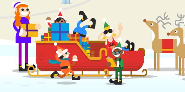 Google's Santa Tracker is weer van start gegaan (Klik afbeelding voor artikel)