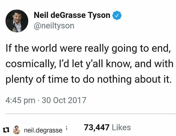Neil has our back.