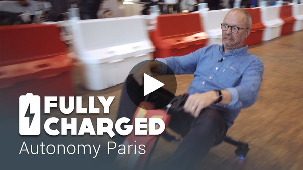 Interesting stuff from E-Mobility from the Autonomy Show in Paris