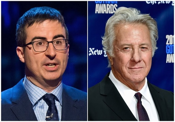"Latest News: John Oliver and Dustin Hoffman spar over sexual harassment allegations at a ""Wag the Dog"" Q&A"