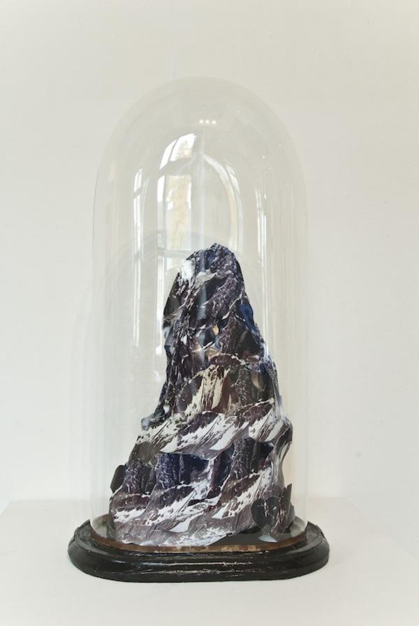 Mountain (brown), Sculpture, 2012