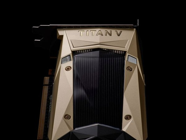 More NVIDIA Titan V glamour shots.