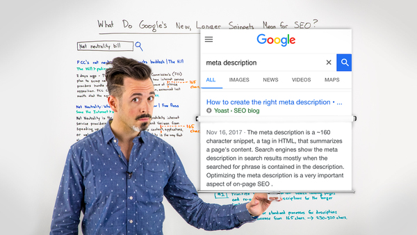 What Do Google's New, Longer Snippets Mean for SEO?  [VIDEO]