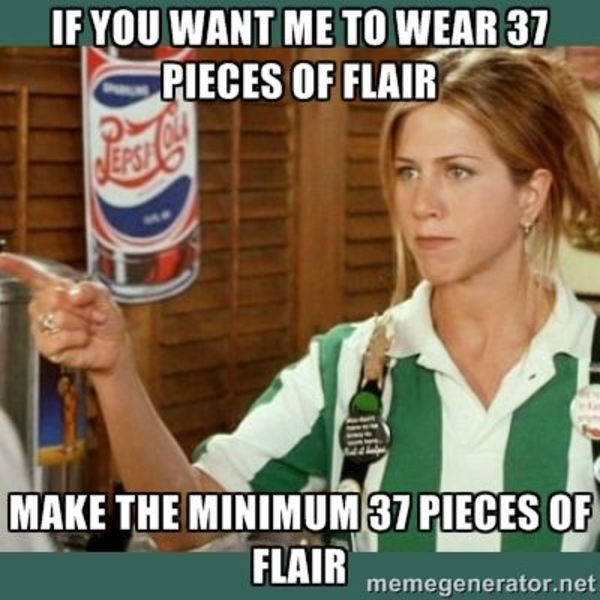 Listen to learn what 'Flair' has to do with it.