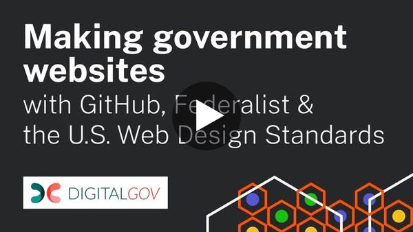 Workshop: Making Government Websites with Federalist + GitHub Basics - YouTube