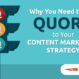 Why and How to Add Quora to Your Content Marketing Strategy