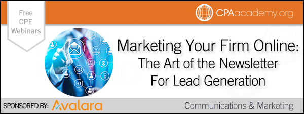 Marketing Your Firm Online: The Art of the Newsletter for Lead Generation