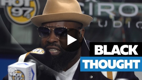 BLACK THOUGHT FREESTYLES ON FLEX | Incredible!