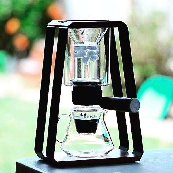 Cold Drip with Trinity ONE Black Edition and Origin Decanter Glass Edition