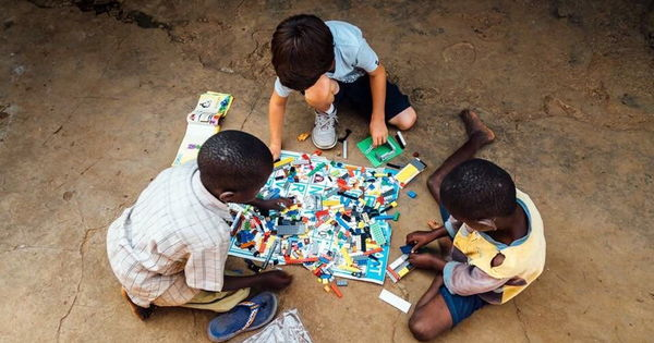 Play Well Africa, Founded By 6-Year-Old, Sends Used Legos to Ugandan Youth