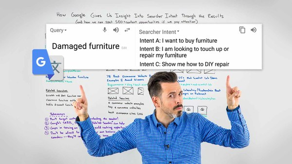 How Google Gives Us Insight into Searcher Intent Through the Results [VIDEO]