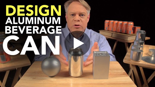The Ingenious Design of the Aluminum Beverage Can - YouTube