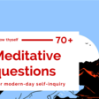 Know Thyself: 70+ Meditative Questions (for modern-day self-inquiry) - Nadia Piet