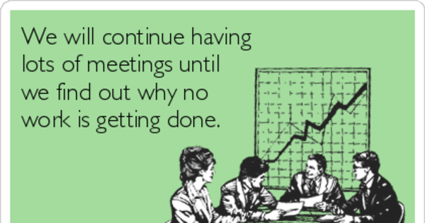 It's time for recurring meetings to end