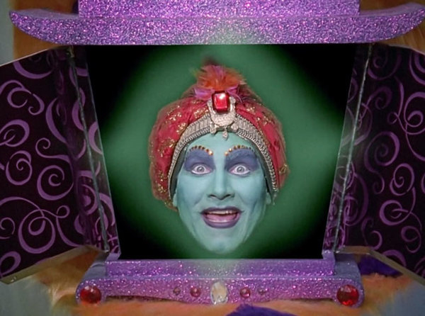 Jambi grants wishes, not predictions, but I really wanted to use this picture.