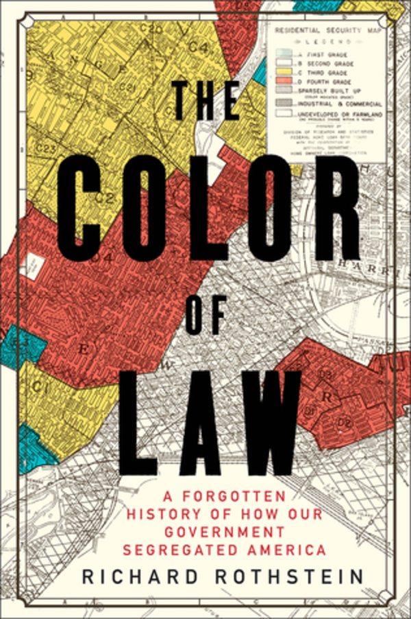 I recommend The Color of Law, by Richard Rothstein, which I finally got to read last week. The subtitle says it all. If you live in the Bay Area and want to learn more, click on the cover for an event in Richmond on Jan. 20.