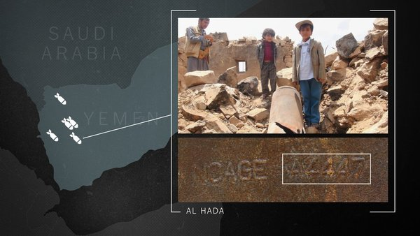 How Did Bombs Made in Italy Kill a Family In Yemen?