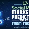 17+ Social Media Marketing Predictions for 2018 From the Pros : Social Media Examiner