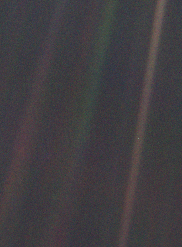 Just a Pale Blue Dot