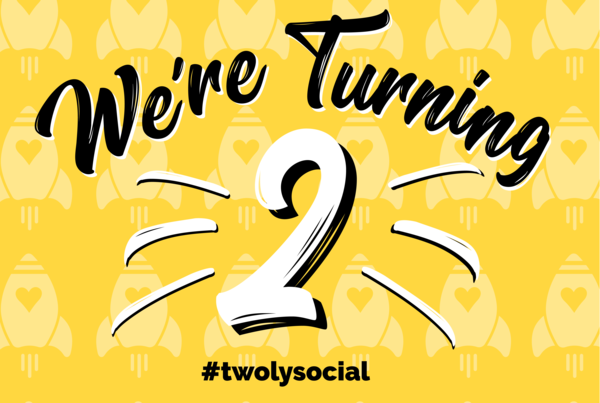 Here's to many more years of social success!