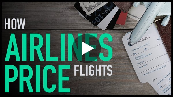 Something you always wanted to know: How Airlines Price Flights