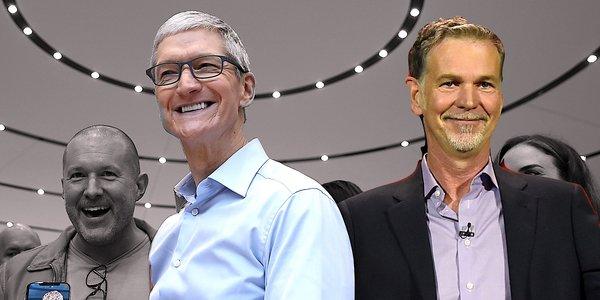 💰 Tim Cook ile Reed Hastings'i aynı karede görebiliyorsak aynı masada neden görmeyelim?