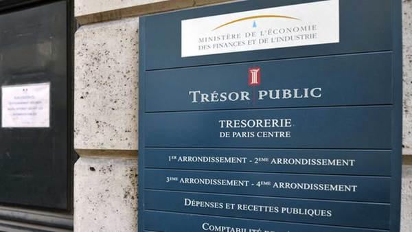 Belastingkantoor in Parijs