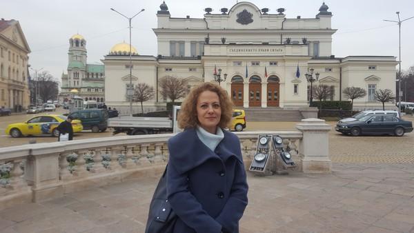 Ralitsa Kovatsjeva docent aan de universiteit