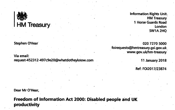FOI request has been answered