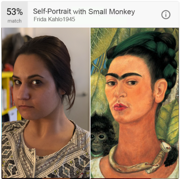AnnaMaria: Truly Social's very own Frida Kahlo.