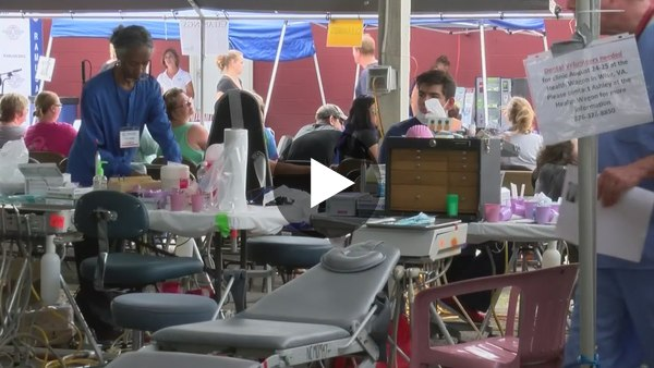 RAM clinic offers free medical services in Wise County - YouTube
