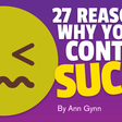 27 Reasons Why Your Content Sucks