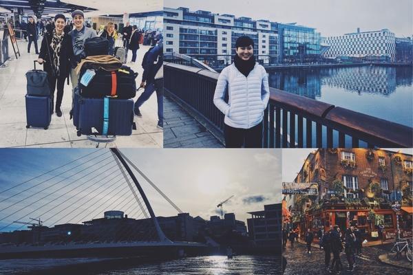 The first few days in Dublin