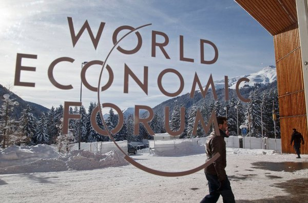 Lekker koud in Davos.