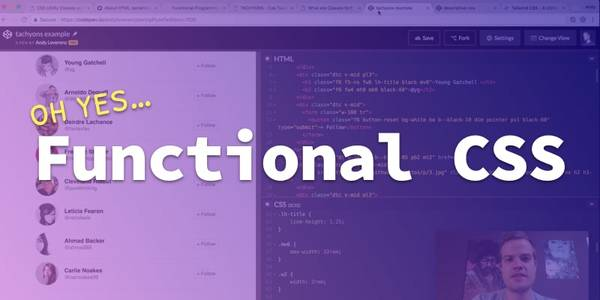 On Functional CSS