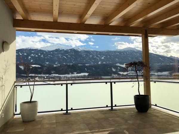 The view from a small town near Innsbruck, Austria.