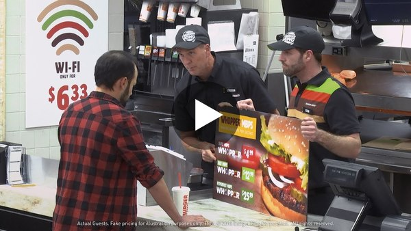 Burger King Explains Net Neutrality With Hamburgers