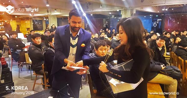 Meetup surprises for our Korean Family