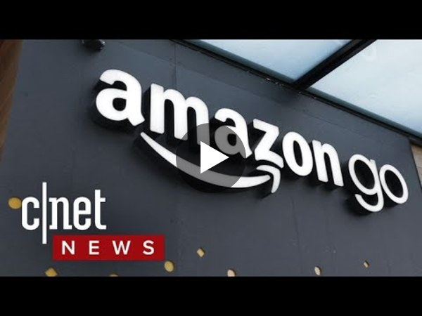What it's like to shop at an Amazon Go store - YouTube