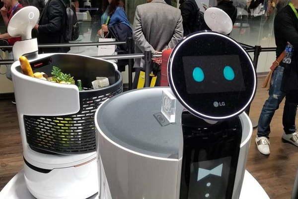 LG Service Robots CLOi