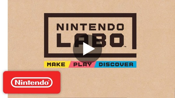 First Look at Nintendo Labo - YouTube