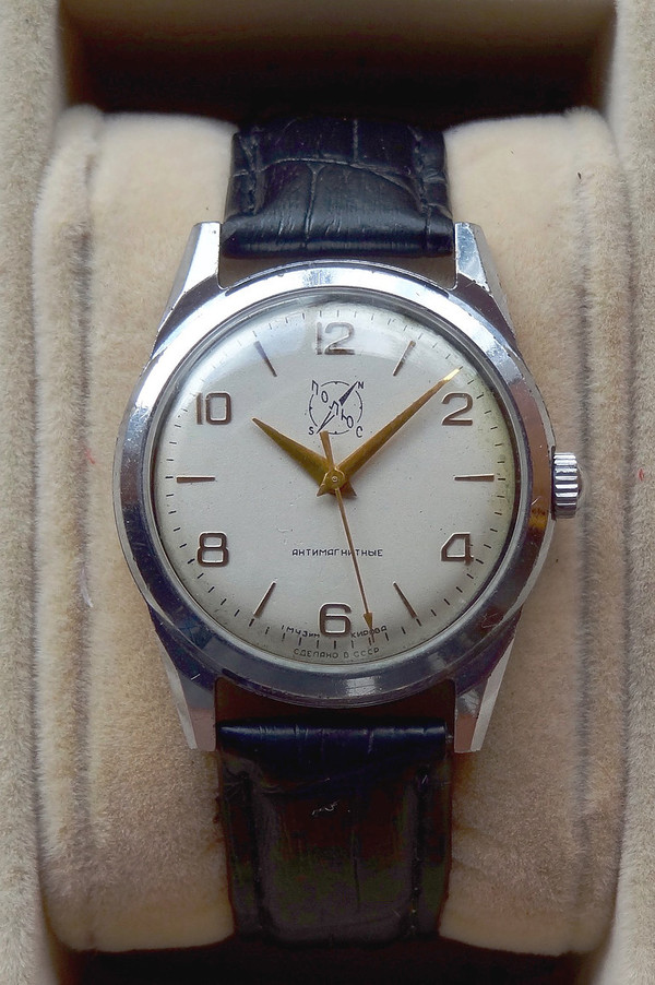 Poljus - Polar exploration watch, antimagnetic