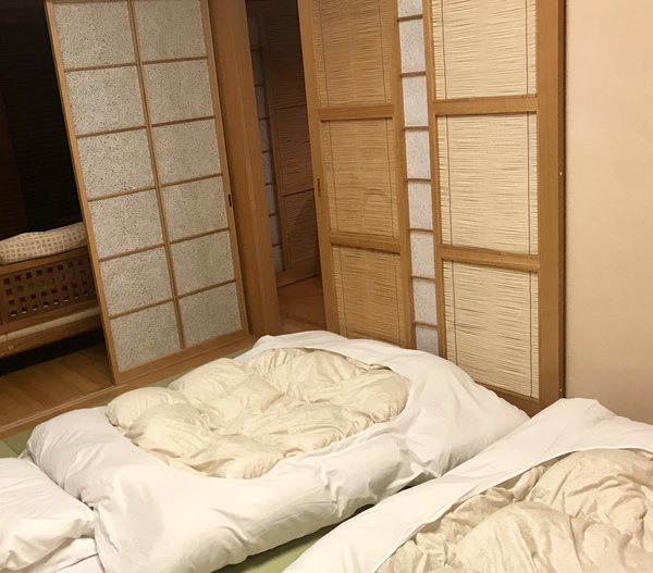 A ryokan style room
