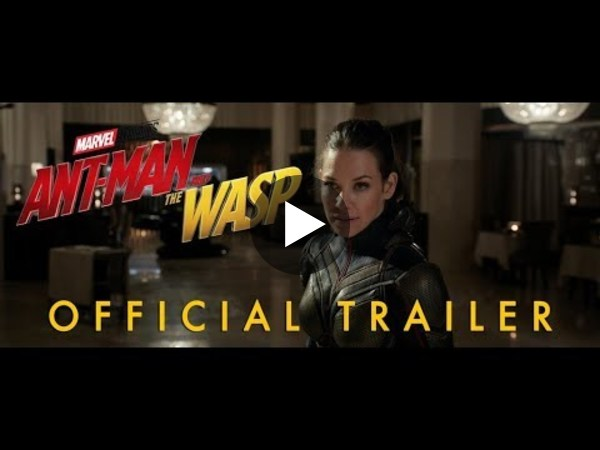 Marvel Studios' Ant-Man and the Wasp - Official Trailer - YouTube