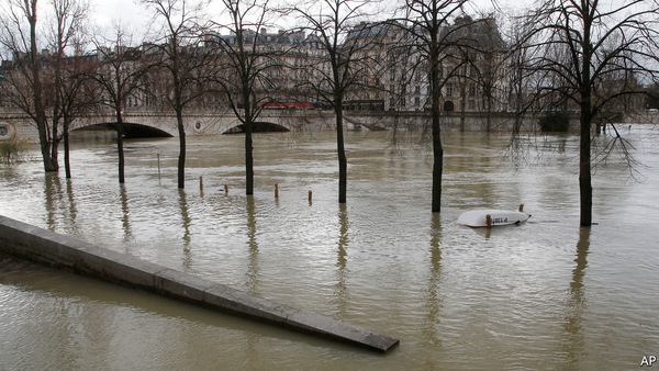Why Paris is all wet again - The Economist explains