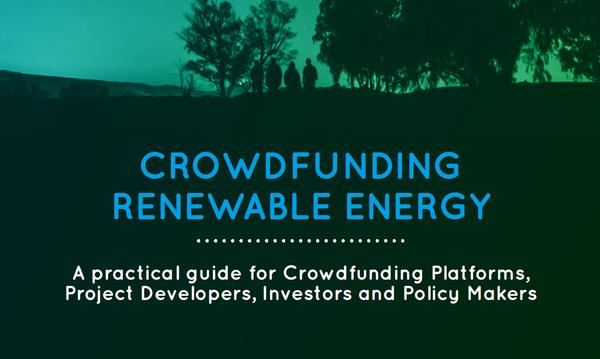 Handboek voor crowdfunding voor duurzame energie